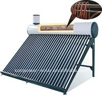 Solar Water Heater cooper coil stainless steel new green energy technology of China 2011 popular hot sales