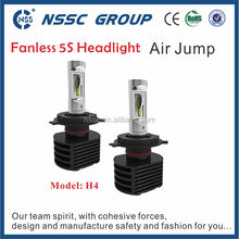 China factory new design fanless car led headlight kit philip led 6000K 25w for motorcycles