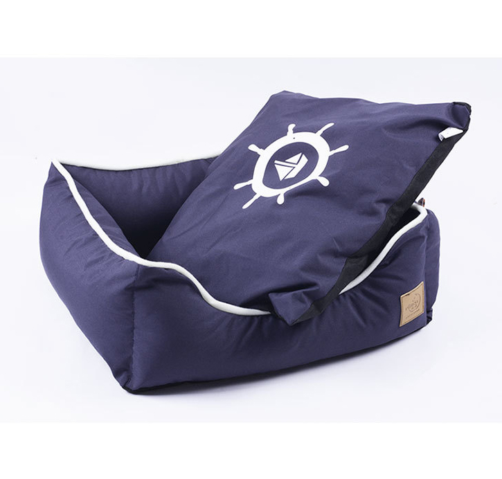 [PHS004] Oxford cloth material ocean style detachable and washable dog beds filled with pp cotton