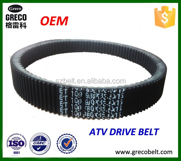 High quality ATV drive belt 3402-757/ HP2032 for Arctic cat 500cc