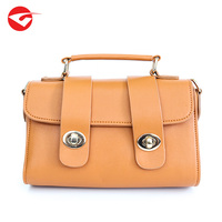 2018 elegant new model vintage PU leather girls lady handbags for women
