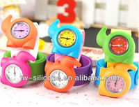 hot selling new product 2013 silicone slap kid digital watch wholesale