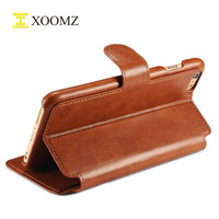 PU Leather Mobile Phone Wallet Case Cover For iPhone 6