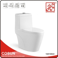 One Piece Ceramic Indian Style Sitting WC Toilet Pan