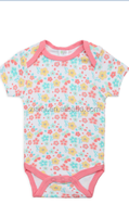 factory direct sale new design low price little floral pattern fashion baby girl clothes