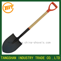 Short wooden handle garden tools farming shovel
