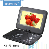 factory wholesale price quality usb tv sd radio 9 Inch Super-Slim LCD TV+3D Portable DVD Player with FM/Game/USB/SD/AV-in/out