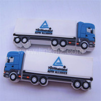 Good quality branded truck shape 4gb usb flash drives