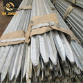 Hot-dipped Galvanized Star picket