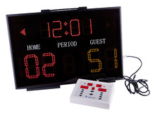 Hot selling basketball scoreboard with shot clock