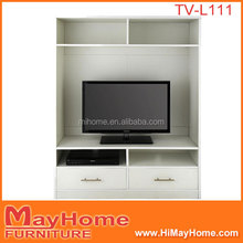 Modern living room furniture design simple lcd wooden tv rack