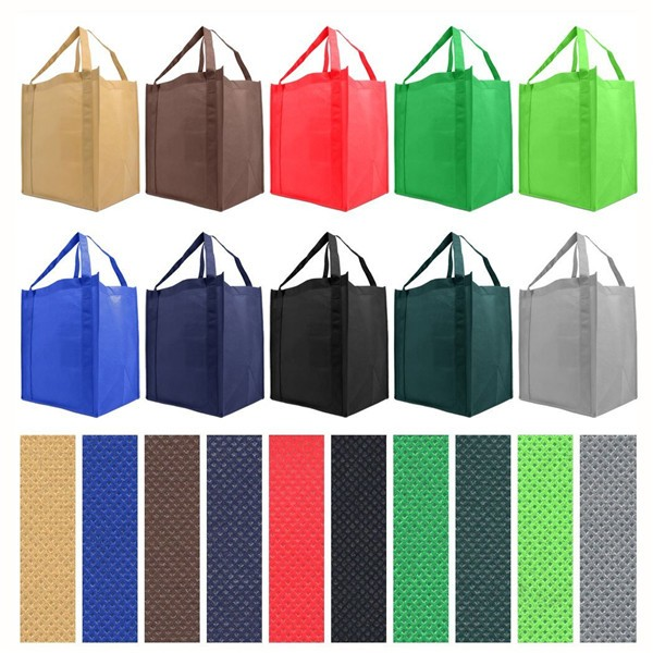 wholesale Non woven Reusable Shopping Tote Bag with free sample