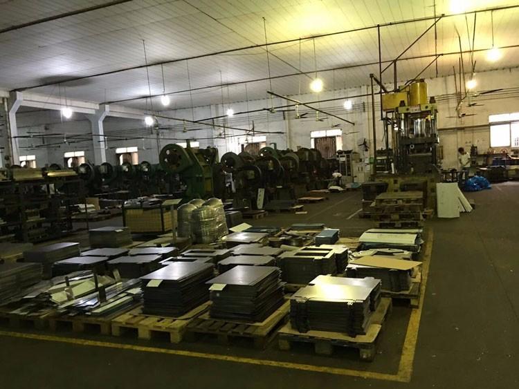 사용자 정의 CNC 밀링 기계 부품 알루미늄 6061 방열판 플레이트 LED 조명