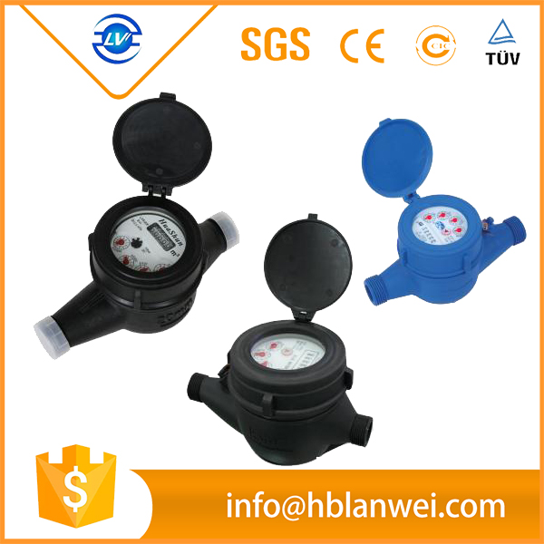 Alibaba website pvc materials digital water flow meter for agriculture