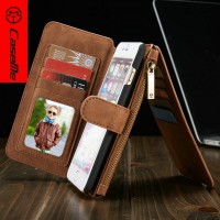 Phone Accessories Factory Price Ultra Thin Mobile Phone Case for iphone 6 plus leather, for iPhone 6 plus Flip Leather Case