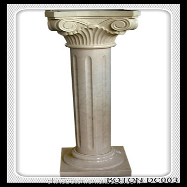 High quality Roman Column decorative marble roman pillars for sale