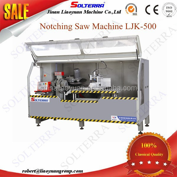 China Supplier Aluminium Windows Notching Saw Machine for sale