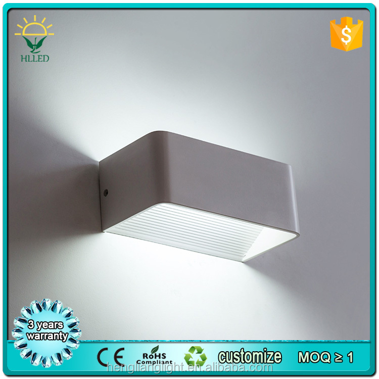 Free sample Energy saving 6w wall bracket light fitting indoor led wall light