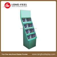 Market cosmetic product promotion pallet display