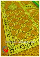 100% polyester muslims prayer rug