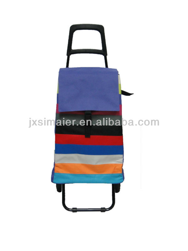 SHOPPING CART WITH COOLERBAG