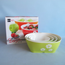 2014 new product decorative multi function plastic bowl