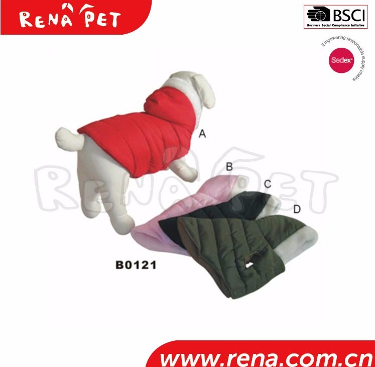 Keep Warm 2016 New Fashion Winter Autumn Dog Clothes Soft Cotton Puppy For Pet Products Pet Clothes Pet Coat