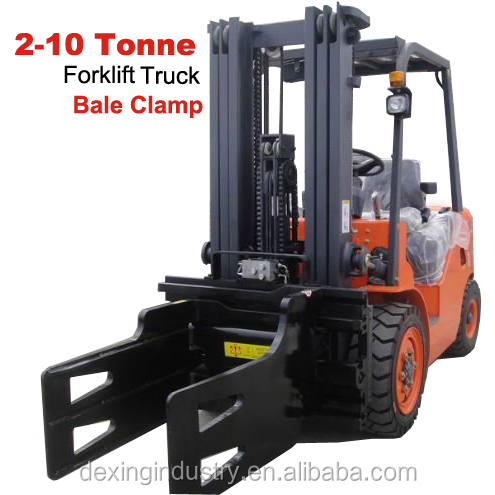 New Strong Forklift Waste Paper Bale Clamp for Sale, Side Shift