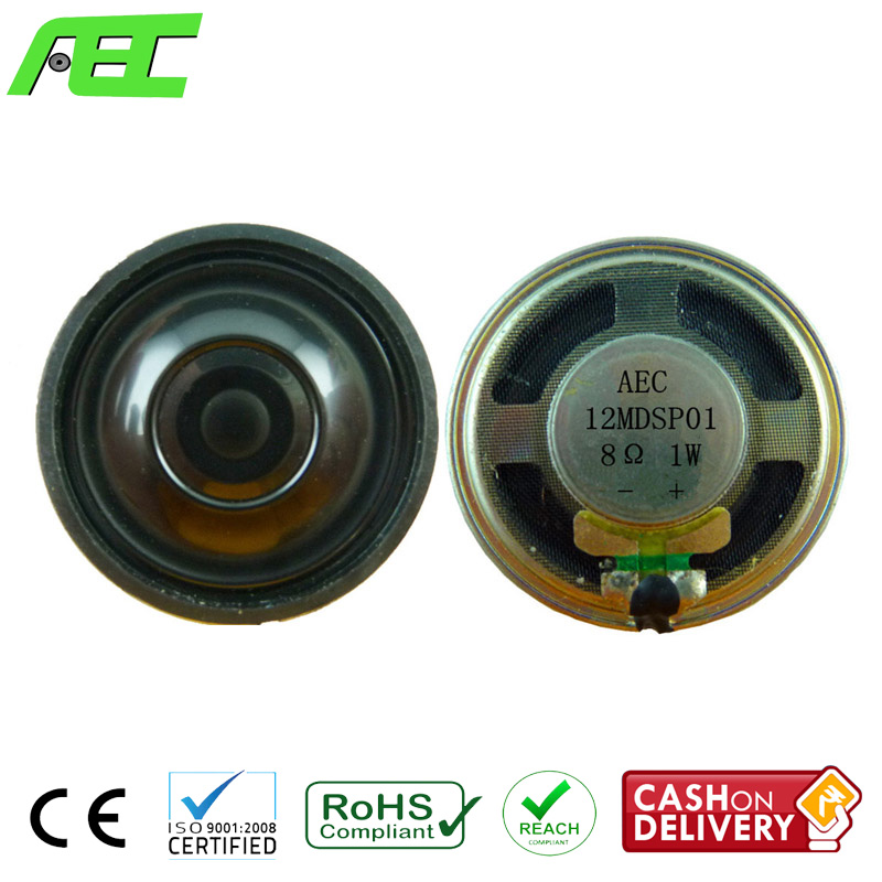 Professional Loudspeaker Factory 36mm 8 ohm 1 w Small Thin Speakers