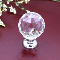 Factory Cheap price crystal rhinestone shrovage knobs and acrylic knob