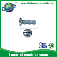 M3 cross pan head screw slotted pan head screw