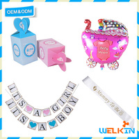 Chinese factory price baby shower favors, hot sale baby shower decorations, baby shower gifts 2017
