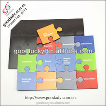 hot sale promotional magnetic jigsaw puzzle/ magnetic puzzle for kids
