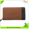 wholesale brown multicolor luxury Credit Card Holder Promotion high quality leather mens wallet in low price
