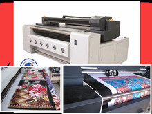 Digital textile fabric silk scarf printer with belt system