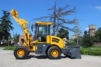 1.6 ton wheel loader ZL16 with 4 wheel drive, for u.s.market.
