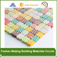white polyester mesh belt furnace for paving mosaic