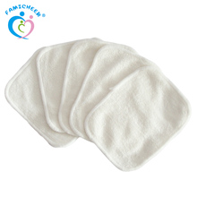 Bamboo Washable Baby Cloth Reusable Wipes for Baby Use