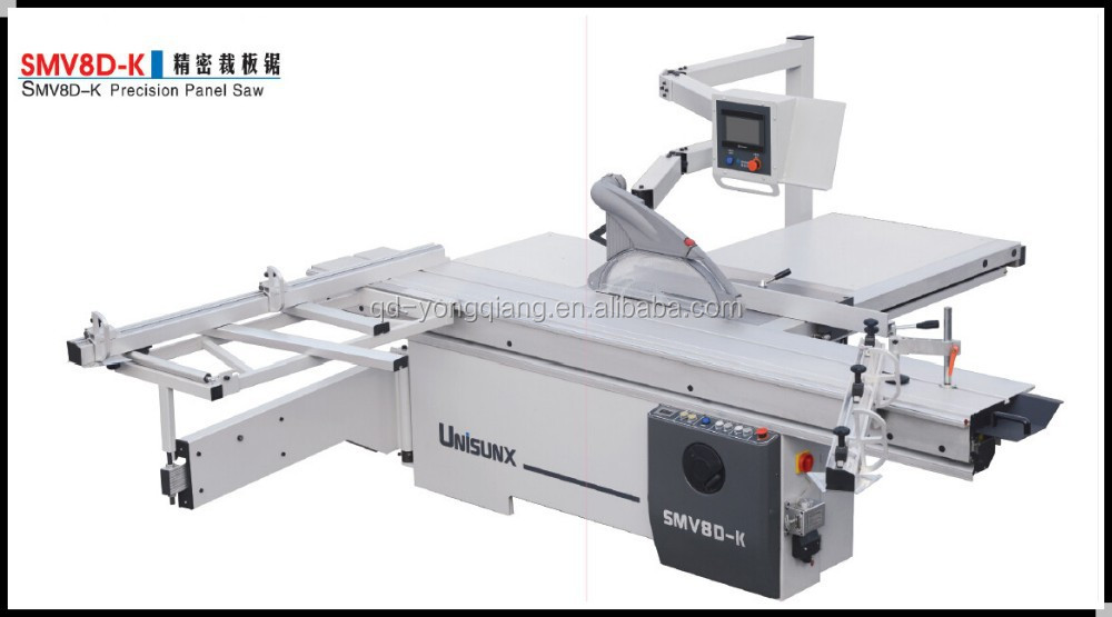 qingdao yongqiang SMV8D-K electric panel saw woodworking machine