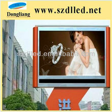 china led screen p10 outdoor full color led word fan display