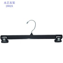 Cheap black plastic pants hanger clips