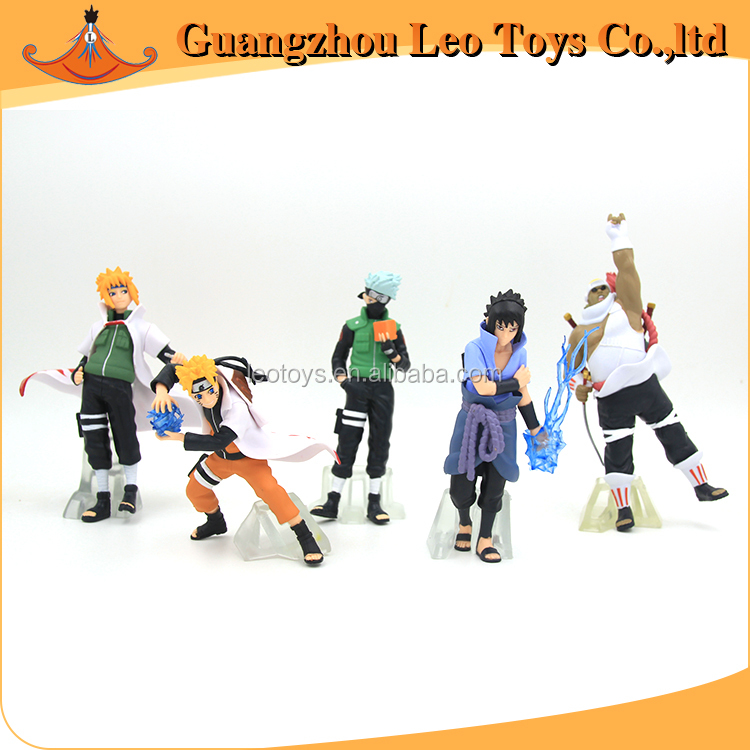 Custom Anime Action Toy Naruto Plastic Miniature Human Figure
