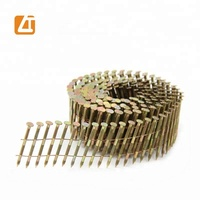 Wire coil nail (factory), roofing nail for asphalt shingles