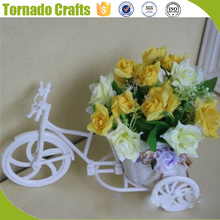 Artificial Flower 7 Forks Mini Rose Colorful Silk Flowers For Room Wedding Small Roses