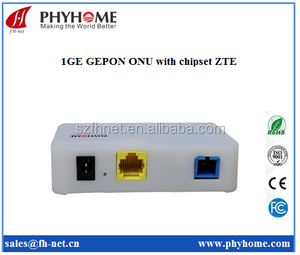 Phyhome newest GEPON ONU 1GE with ZTE chip FHR1100GZB SFU
