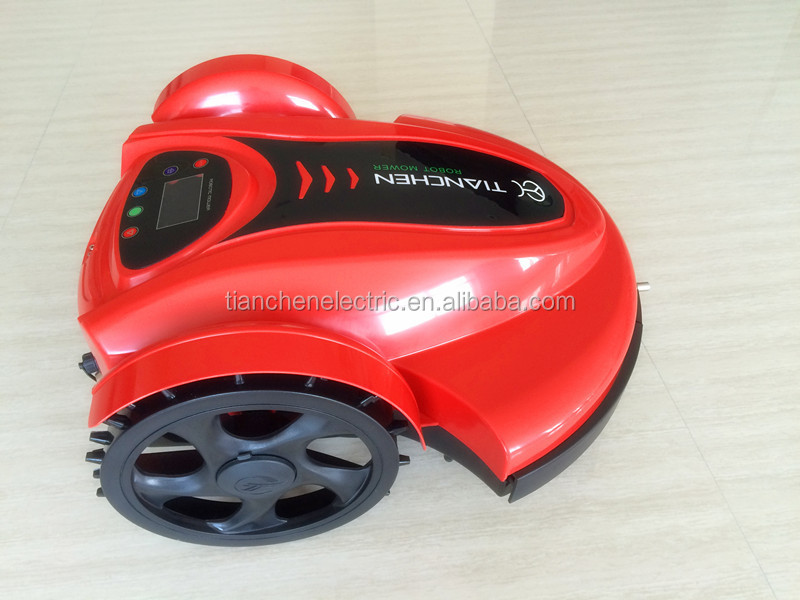 tianchen new robotic lawnmower new china red color with Latest CE certification