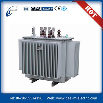 S11-MR series 6.3kv 800kva Three phase Oil immersed Spiral Core Distribution Transformer