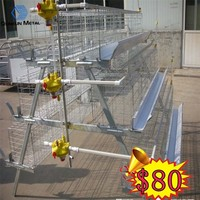 3 or 4 layers welded wire mother chicken cages 20years lifetime