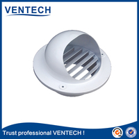 best-selling white exhaust fan diffuser for fixed blades jet diffuser return grille
