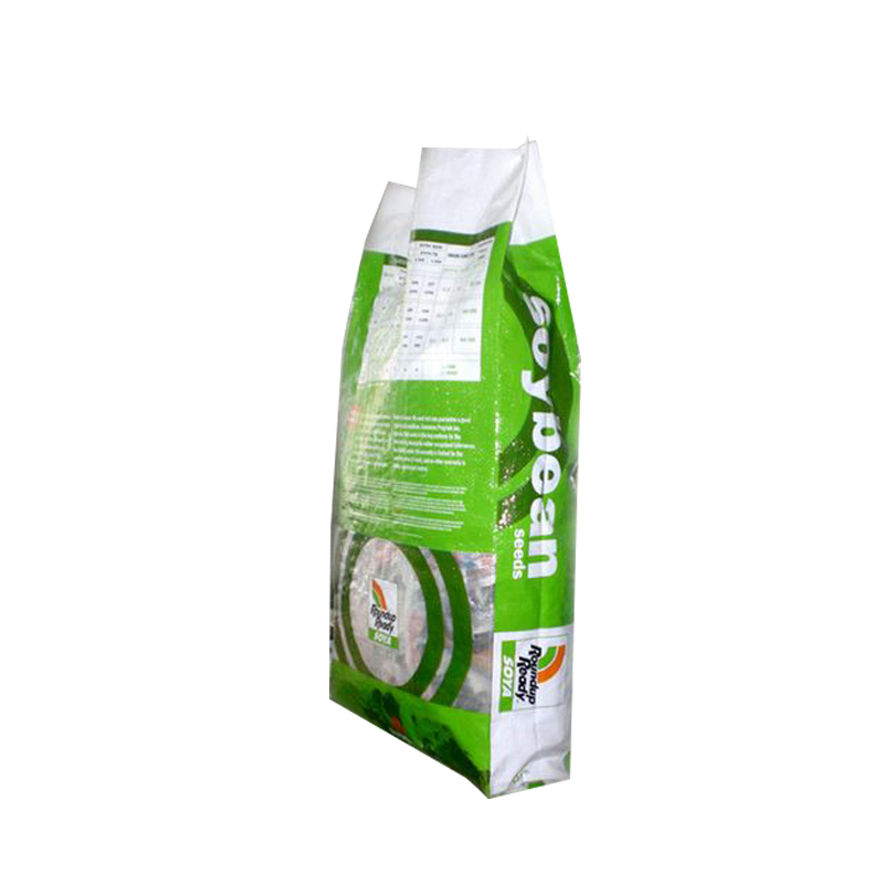 Soya bean plastic polypropylene woven bag with bopp laminated